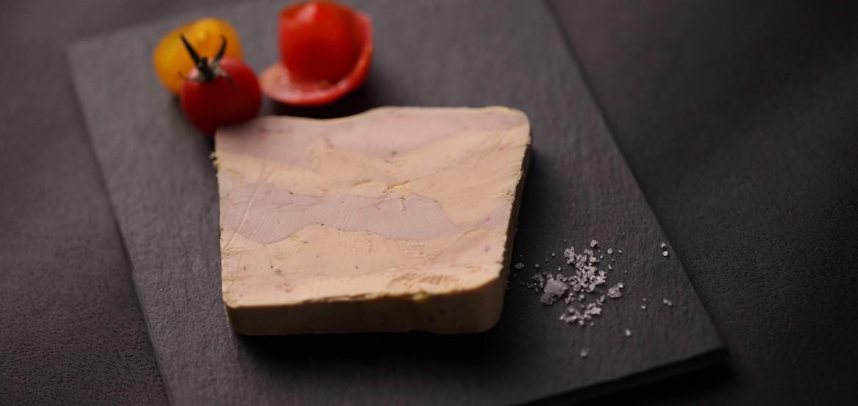 Exclusivité brevetée de la Maison Metzler, le Canoie® est une superposition de foie gras de canard entier et de foie gras d'oie entier