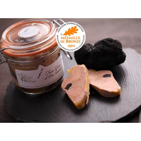 Foie gras d'Oie truffé conserve