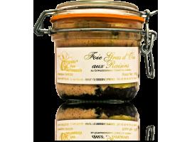 Foie Gras d'Oie aux raisins marinés au Grand Cru Goldert