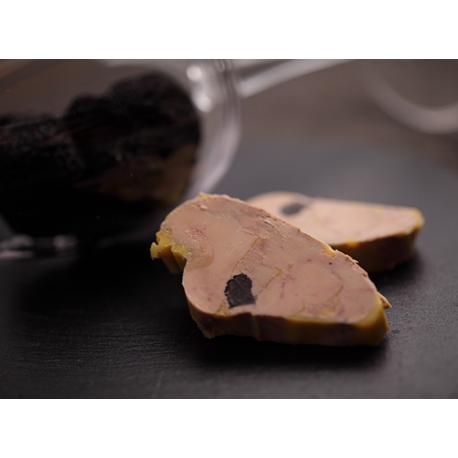 Foie Gras d'Oie truffé semi-conserve