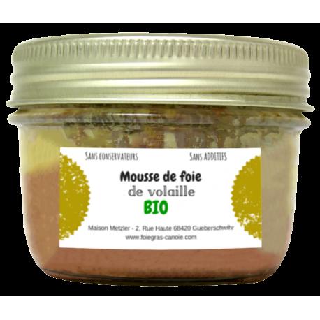 Mousse de foie volaille bio