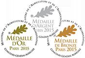 Médailles concours général agricole